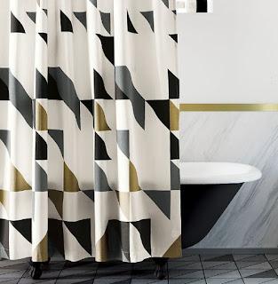 bathroom shower curtains walmart
