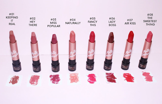 BEAUTY STORY matte generation LIPSTICK review