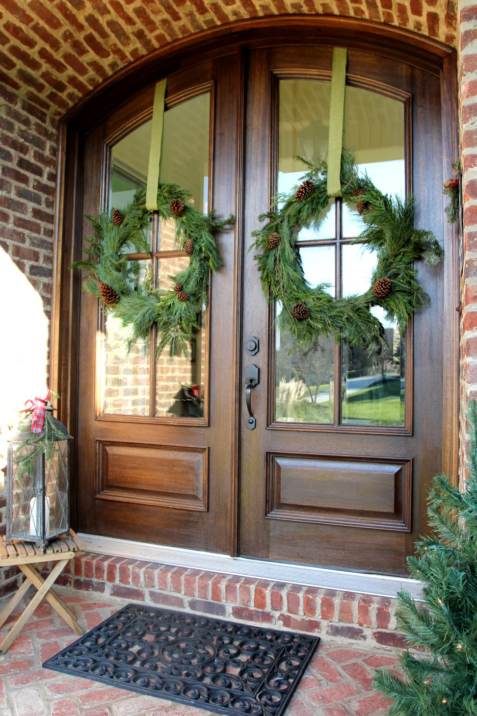 Diy Christmas Wreath From Garland The Sequel Less Than