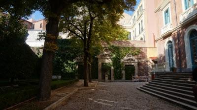 Jardín del Palacio de Zurbano