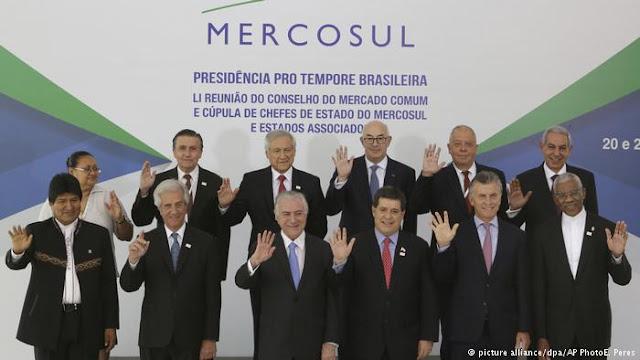 Cumbre Mercosur: Venezuela vuelve si regresa la democracia