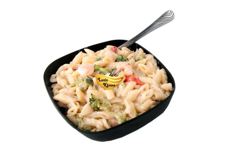 वाइट सॉस पास्ता बनाने की विधि – White Sauce Pasta Recipe in Hindi