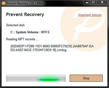 برنامج Prevent Recovery لحذف ملفاتك نهائيا بدون استرجاع