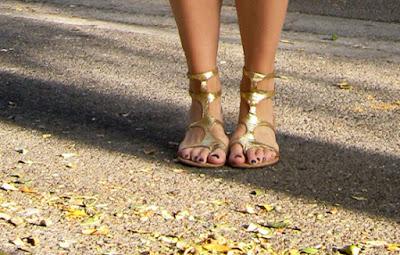 Gladiator Sandalen kombinieren