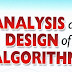 Analysis and Design of Algorithm - Free Study Material | Computer Study