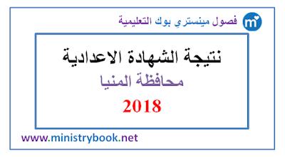 نتيجة الشهادة الاعدادية محافظة المنيا 2018 برقم الجلوس