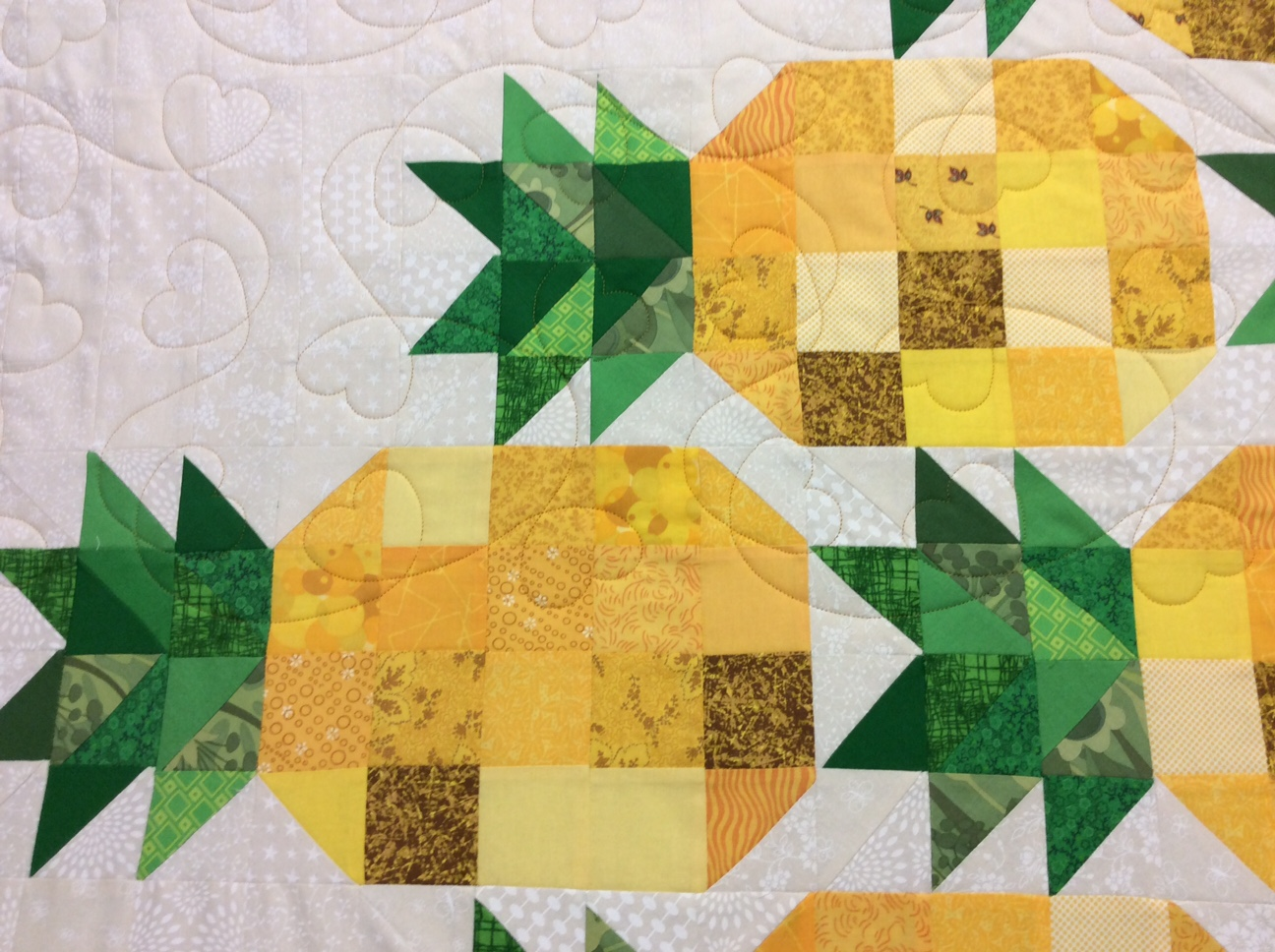 Roseleaves E2e Machine Quilting Pattern