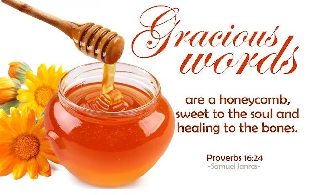 Gracious Words Honeycomb Healing Bones