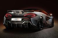 McLaren 600LT Coupé (2019) Rear Side