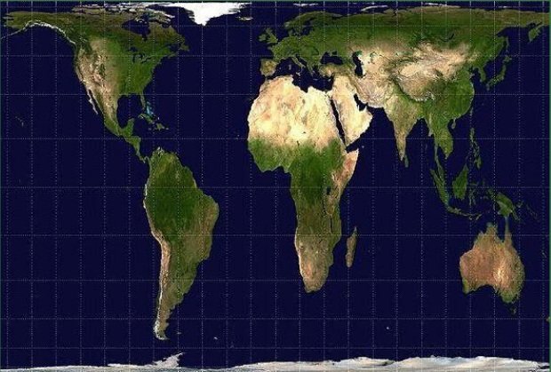 Reality of Mercator projection