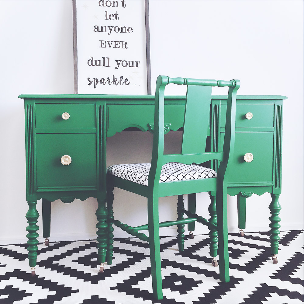 Green Painted Furniture Ideas Thirty Eighth Street