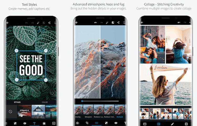 Adobe Photoshop Express apk Mod Premium Terbaru