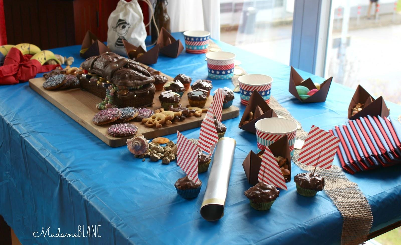 Madame Blanc: Piratenparty Teil1 - mit Keksrezept