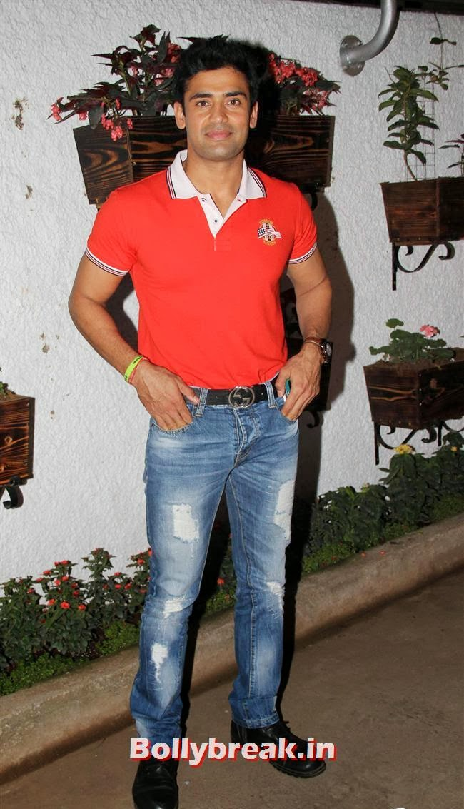 Sangram Singh, Ajaz Khan and Arjumann Mughal at 'Ya Rab' Movie Special Screening