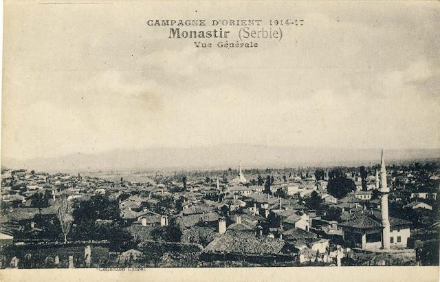 Panorama of Bitola eastward, 1917