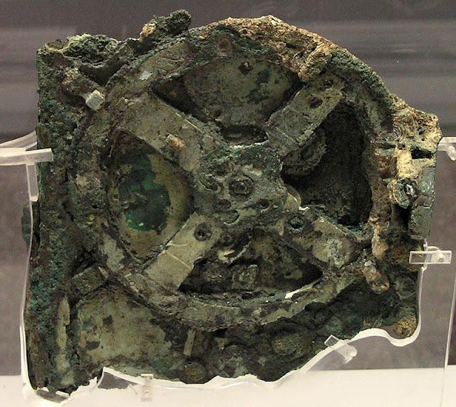 Nueva pieza del mecanismo de Antikythera