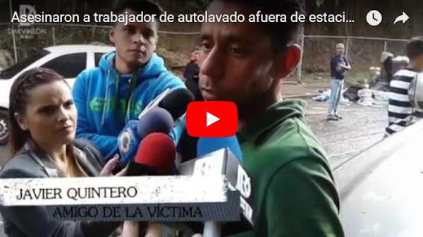 Asesinaron al empleado de un Auto-lavado en Los Rosales