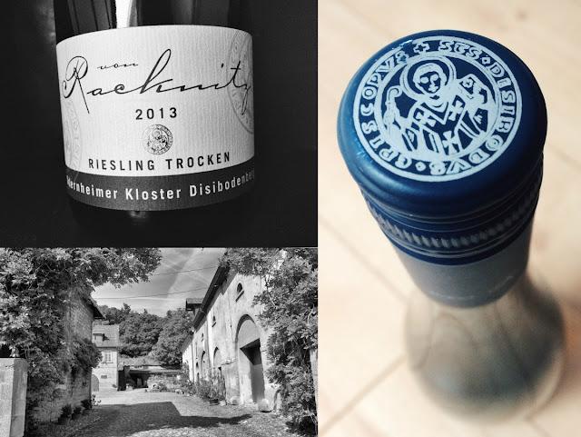 Riesling aus dem Weingut von Racknitz an der Nahe