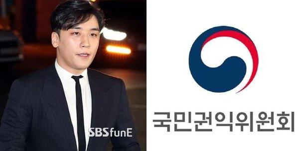 Seungri'nin Katalk konuşmaları soruşturma için 'Yolsuzlukla Mücadele ve İnsan Hakları Komisyonu'na gönderildi