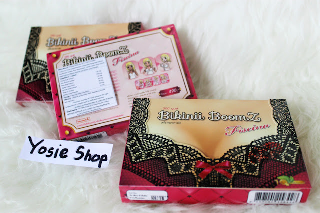 NEW Produk Suplemen Payudara Bikinii Boomz Fiscina Original