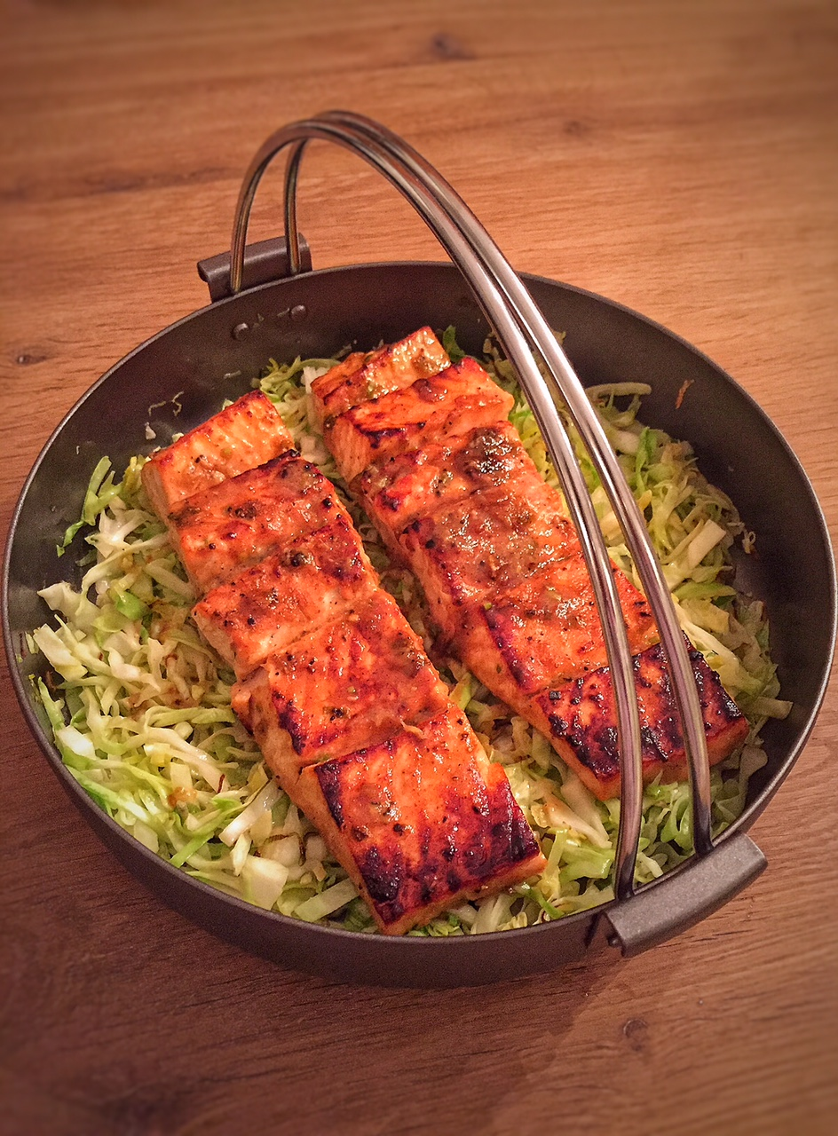 Brown Rice Salmon Bowl
