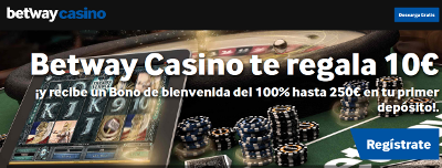 betway 10 euros gratis y calendario adviento
