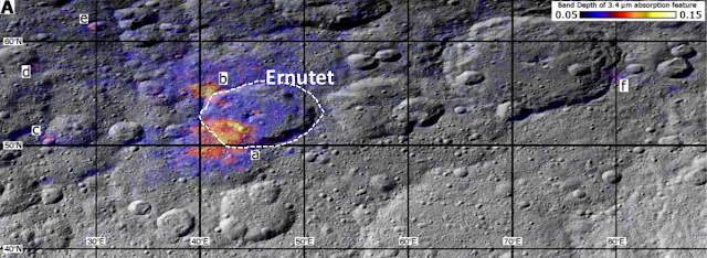 Geology of Ceres illuminates origin of organics