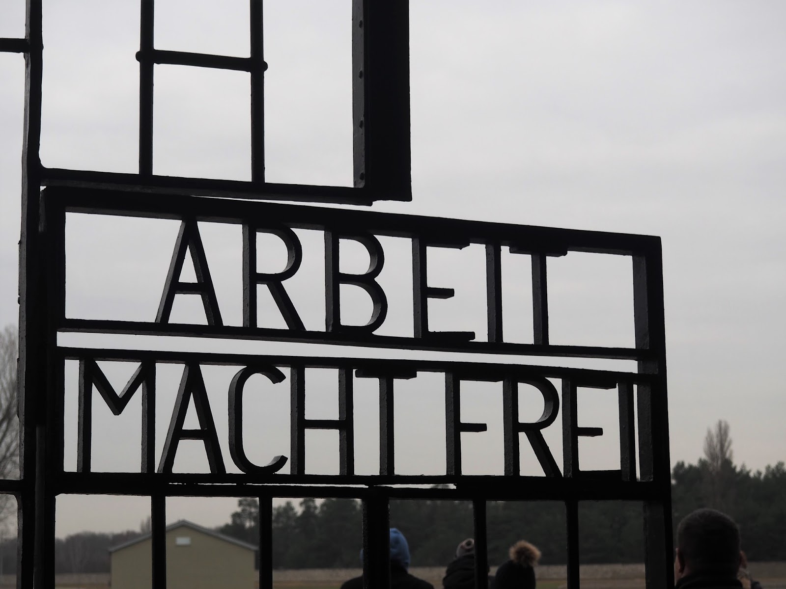 Sachsenhausen Concentration Camp; Arbeit Macht Frei