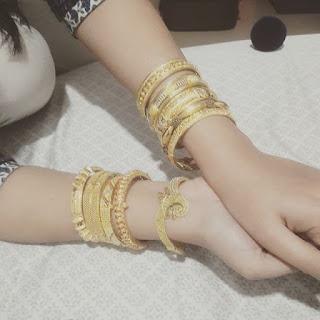 Gold, Bangles, Golden Bangles,