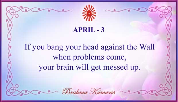 Thought For The Day April 3