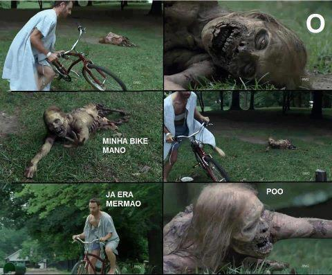 twd - rick - the walking dead - tirinha - via nerdingow