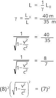 Jawaban soal relativitas nomor 3