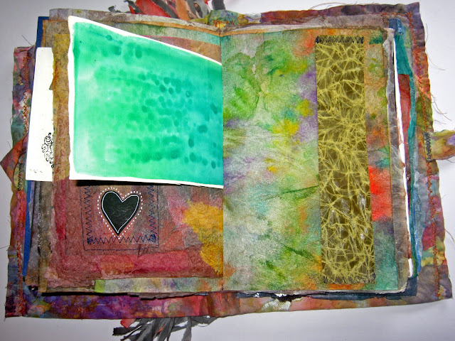 scrappy art journal