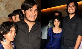 Foto Aamir Khan dengan anaknya Junaid dan Ira