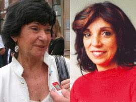 Juana Posse (izq.) y Marcela Durrieu (der.)
