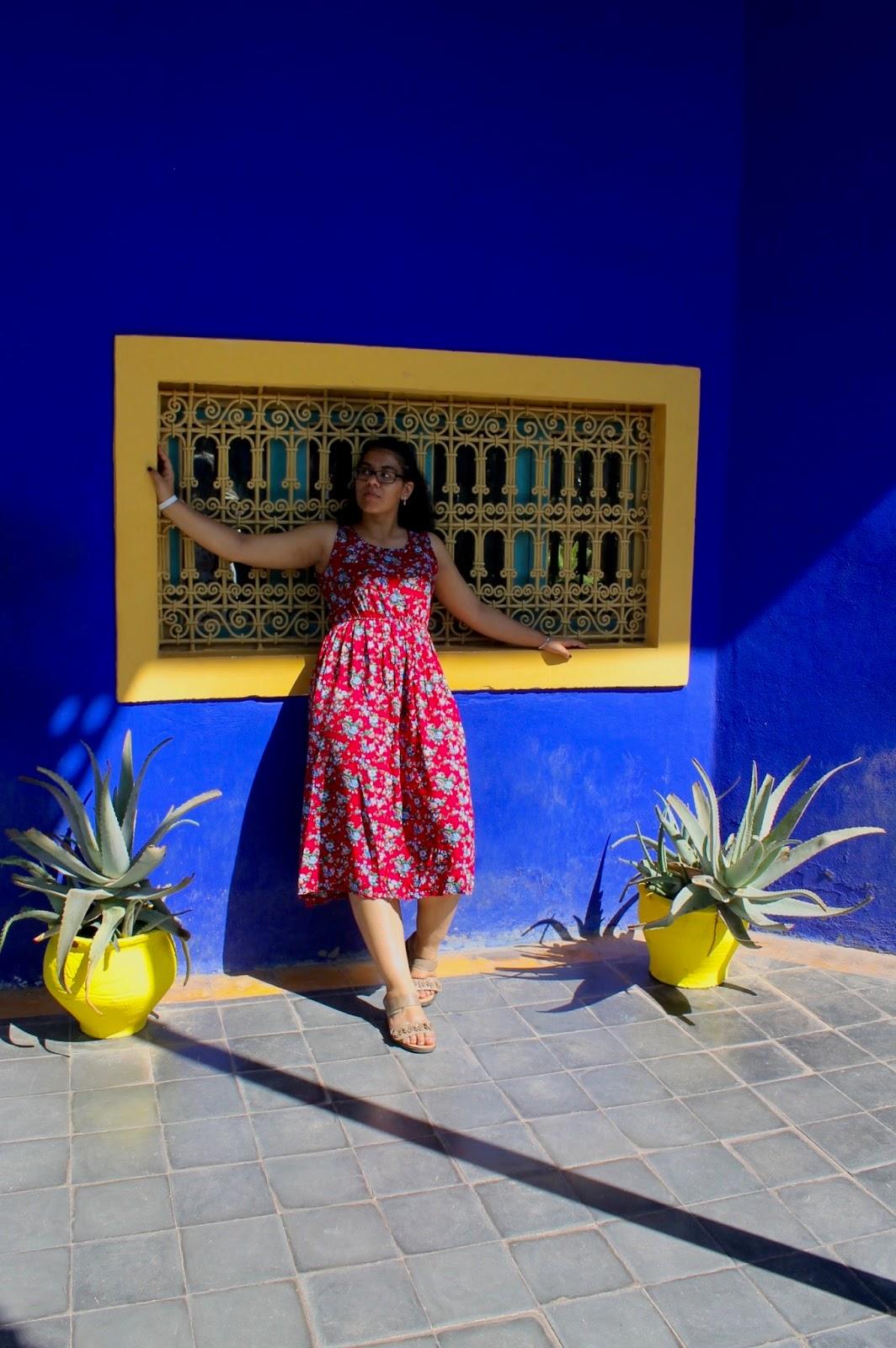 Fashion Photography In Majorelle Garden Marrakech