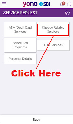 how to stop cheque payment in sbi bank