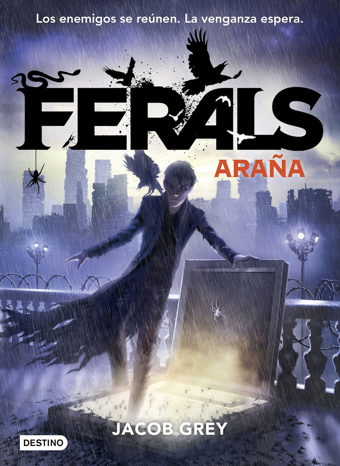 Grey 5 Libro Reseña Ferals Araña The Best Read Yet