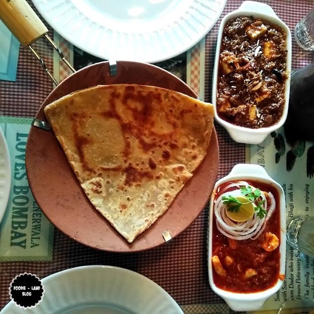 Malai Paratha @ SodaBottleOpenerWala | Lavelle Road | Bangalore