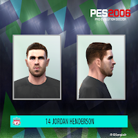 PES 6 Faces Jordan Henderson by El SergioJr