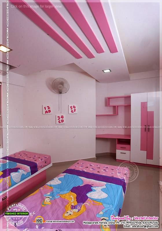 Finished Interior Designs In Kerala