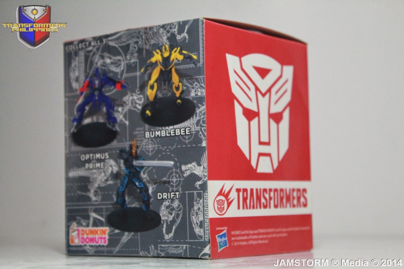 Transformers Philippines Dunkin Donuts Cup Toppers Tf4