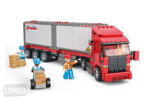 mainan lego truk gandeng