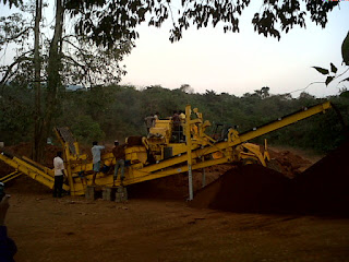 Mobile Crushers on Monthly Rental Basis, Monthly Hire Basis, Per ton crushing Charges, Crushing Contract