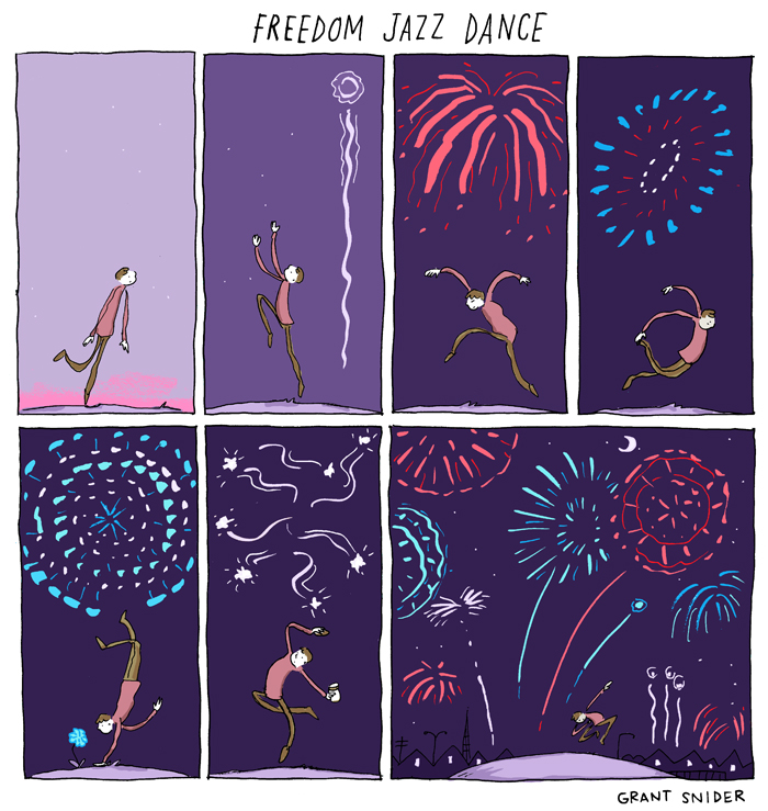 Freedom Jazz Dance from Grant Snider