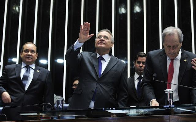 """Na nota, Renan Calheiros afirma que """"não podemos perder a fé na Justiça e na democracia"""""""