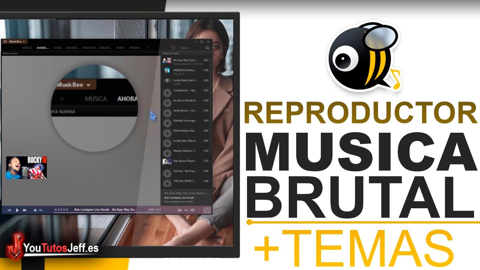 Excelente Reproductor de Música para PC, Descargar MusicBee Ultima Versión