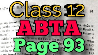 HS English suggestion 2019 - ABTA test paper 2019 solution page 93