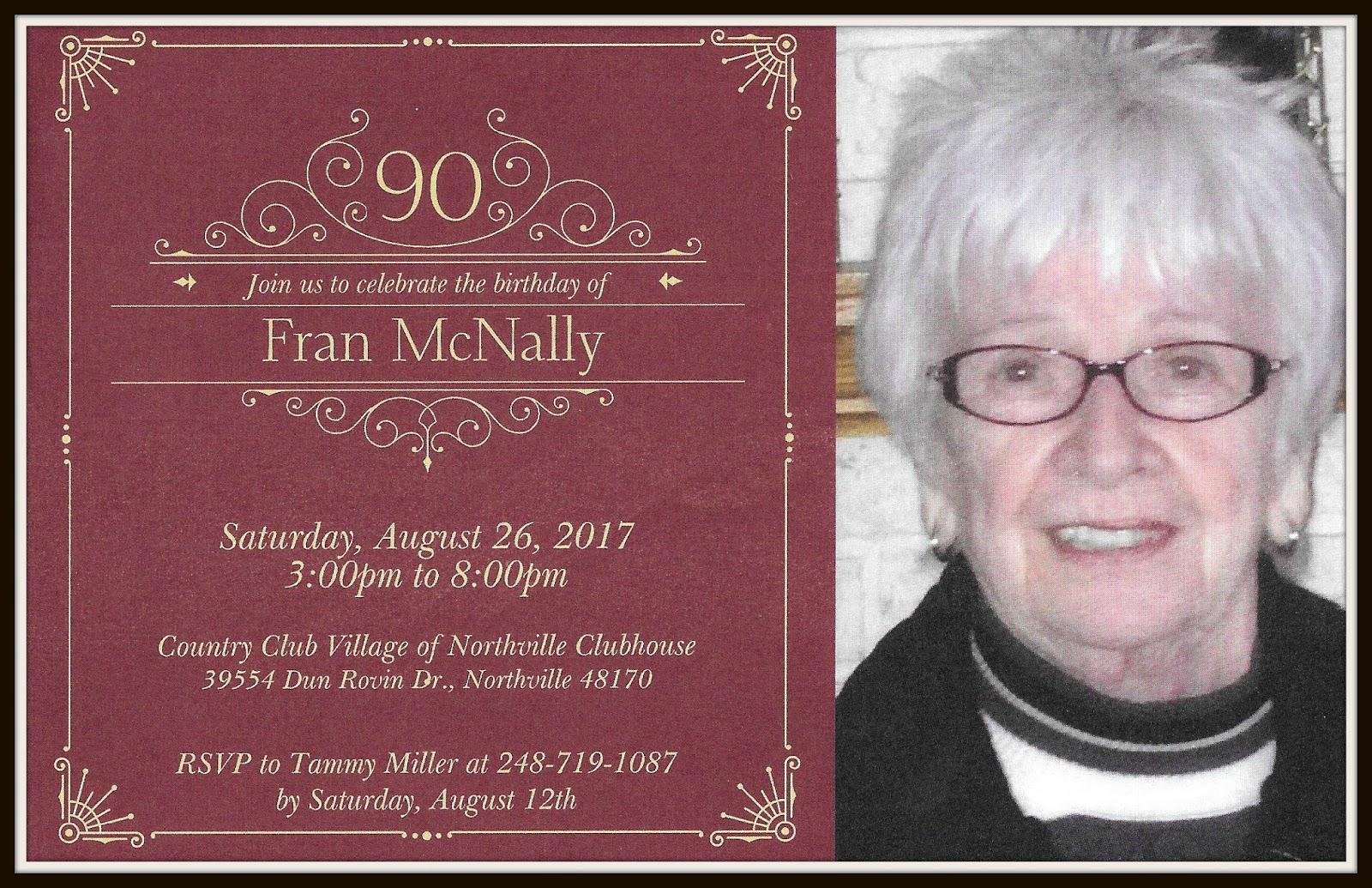 Relevant Tea Leaf: 90th Birthday Party