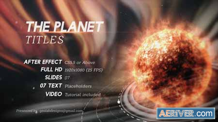 16 Template Title Animasi After Effects Gratis - Title Pack
